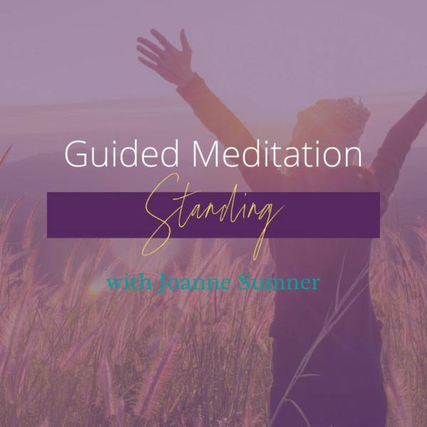 Standing Meditation Guided Meditation by Joanne Sumner