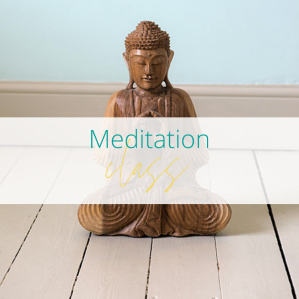 Meditation class at Joanne Sumner Wellbeing