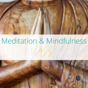 Meditaiton & Mindfulness class at Joanne Sumner Wellbeing