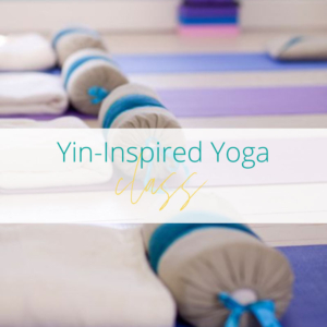 Yin-inspired yoga at Joanne Sumner Wellbeing