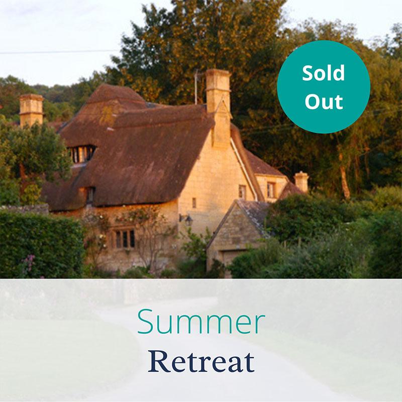 Summer Retreat by Joanne Sumner Wellbeing