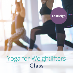 Yoga class for weightlifters with Joanne Sumner Wellbeing in Eastleigh